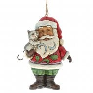 Mini Santa with Cat H/O