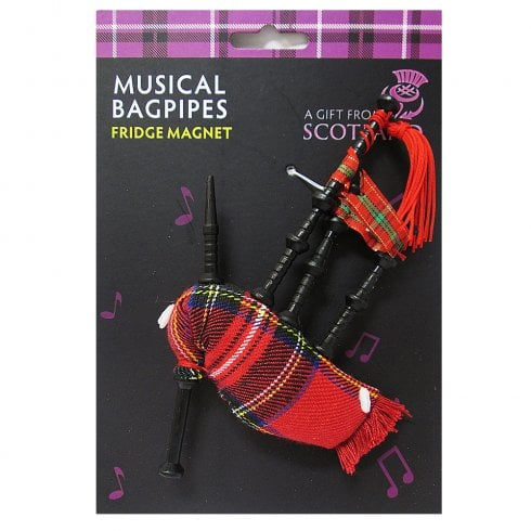 Thistle Products Ltd Miniature Bagpipes Fridge Magnet