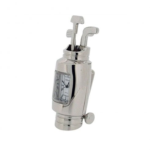 GTP Miniature Golf Bag Mantel Clock IMP62