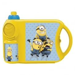 Minions Sandwich Box and Bottle Combo Set