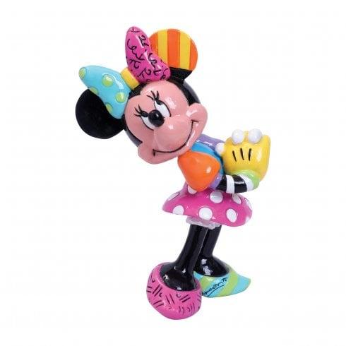 Disney By Britto Minnie Mouse Blushing Mini Figurine