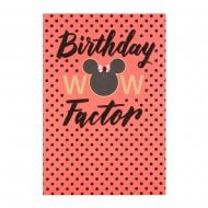 Minnie Mouse Wow Factor Birthday Card 25479539