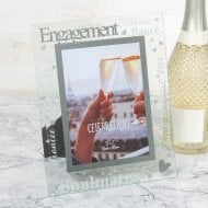 Mirror 3D Words Engagement Frame 5 x 7