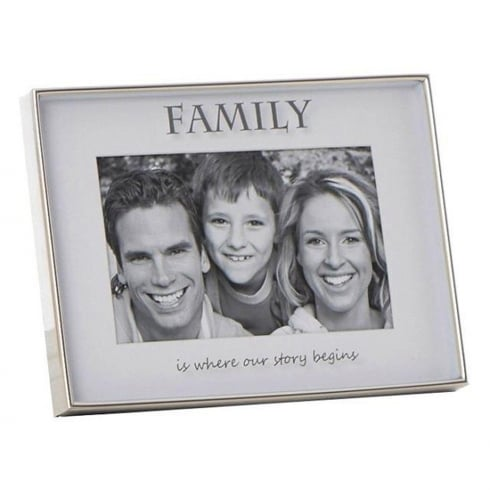 Shudehill Giftware Mirror Sentiment 6 x 4 Family Photo Frame