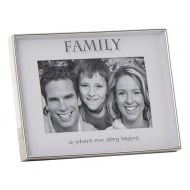 Mirror Sentiment 6 x 4 Family Photo Frame