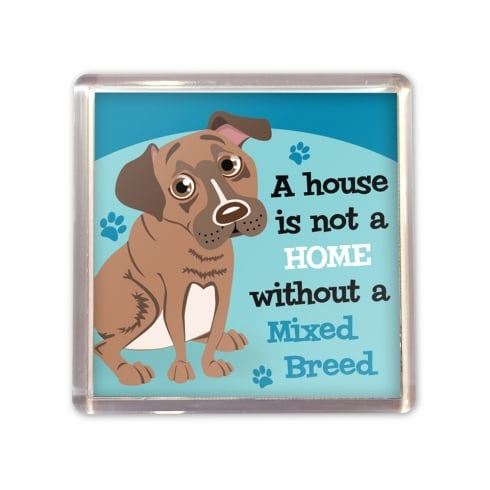 Wags & Whiskers Mixed Breed Magnet