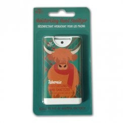 Moisturising Hand Sanitizer Highland Cow Tuberose Fragrance