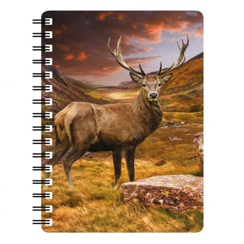 Faithful Friends Collectables Monarch Of The Glen 3D Notebook