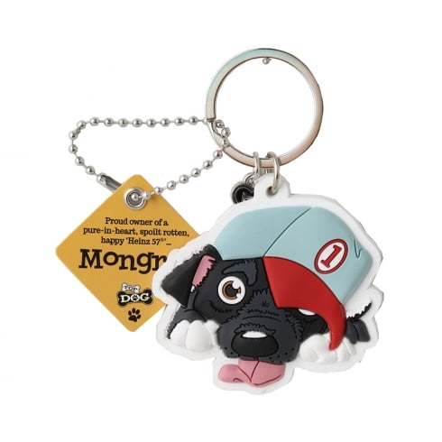 Wags & Whiskers Mongrel Keyring