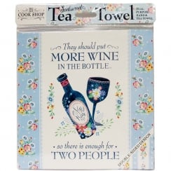 More Wine Tea Towel