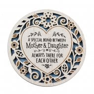 Mother and Daughter Coaster
