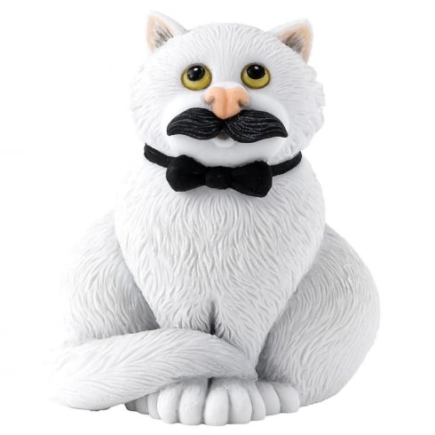 Comic & Curious Cats Movember Figurine
