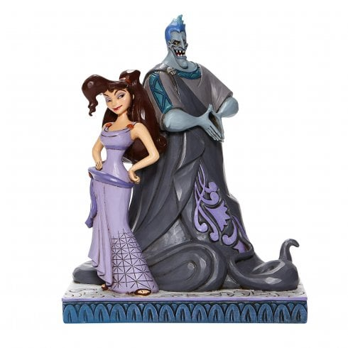 Disney Traditions Moxie and Menace Figurine Meg and Hades Hercules Ornament 6008070