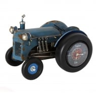 MPH Blue Tractor Mantel Clock