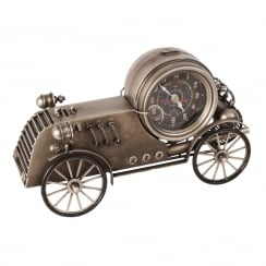 MPH Classic Racing Car Mantel Clock