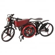 MPH Red Motorbike Mantel Bike