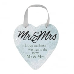 Mr And Mrs Hanging Heart