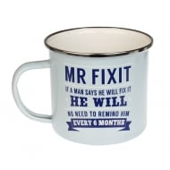 Mr Fix It Tin Mug 22