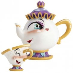 Mrs Potts & Chip Figurine