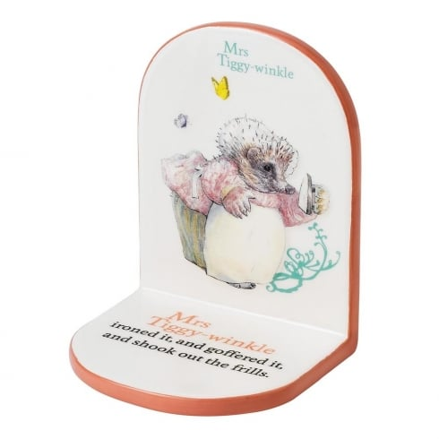 Beatrix Potter Mrs Tiggy Winkle Bookend