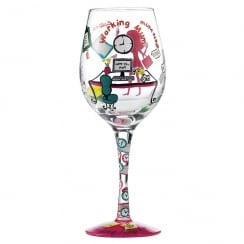 Mummy Time Out Wine Glass