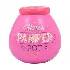 Mums Pamper Pot Ceramic Money Bank
