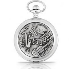 Musical Notes Pocket Watch