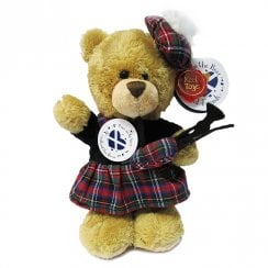 Musical Piper 20CM Standing Bear