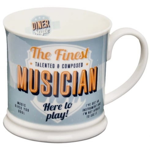 Diner Style Mugs Musician