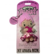My Angel Mum Angel Keyring