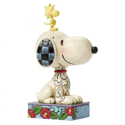 Jim Shore - Peanuts My Best Friend Snoopy and Woodstock Figurine