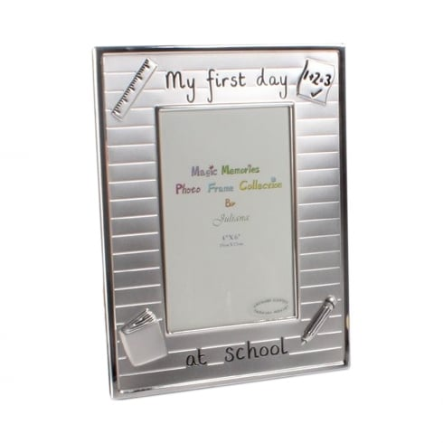 Impressions By Juliana My First Day At School 4 x 6 Photo Frame