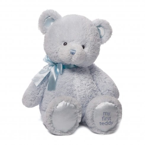 Gund My First Teddy (Extra Large Blue) Soft Toy