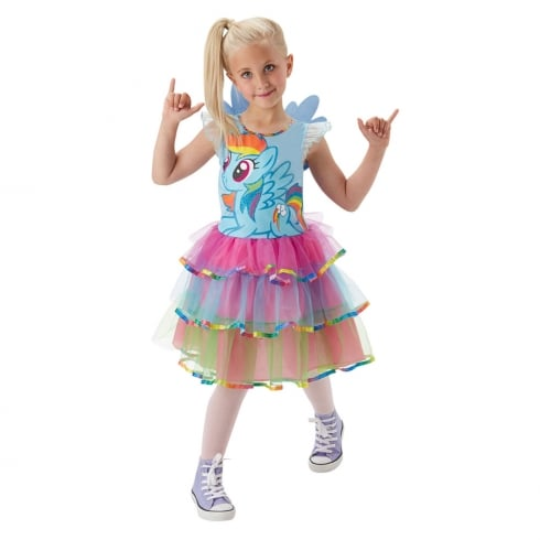 Rubie's Masquerade My Little Pony Rainbow Dash Costume Medium