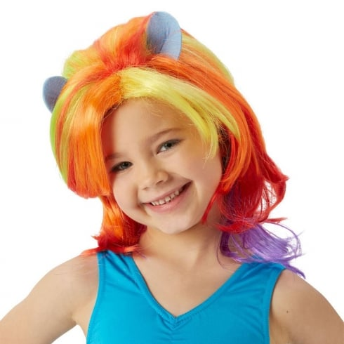 Rubie's Masquerade My Little Pony Rainbow Dash Wig