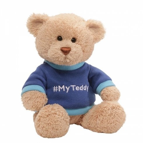 Gund My Teddy Blue Soft Toy
