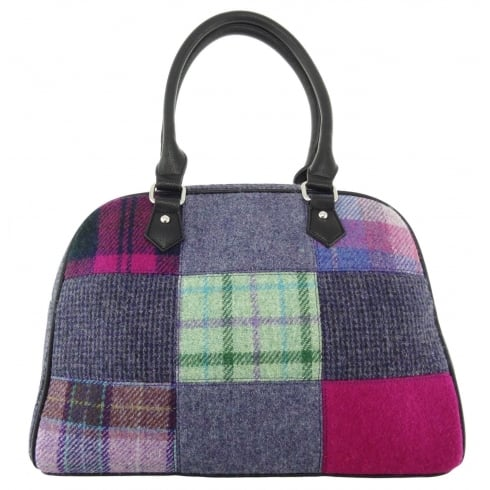 Harris Tweed Nairn Bag - Purple Patch