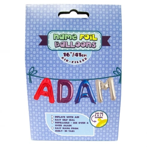 Royal County Products Name Foil Balloons Adam
