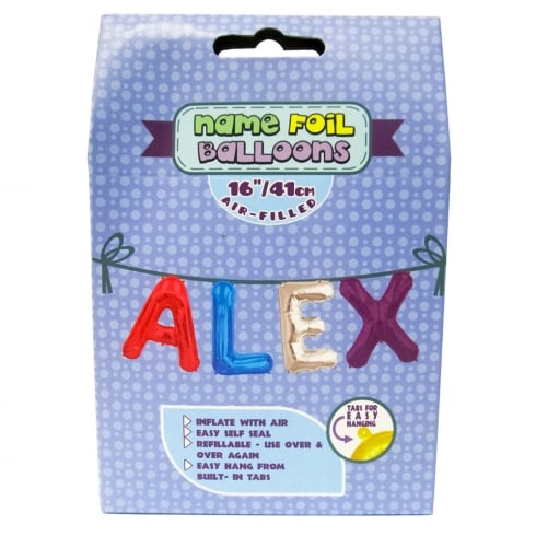 Royal County Products Name Foil Balloons Alex