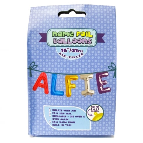 Royal County Products Name Foil Balloons Alfie