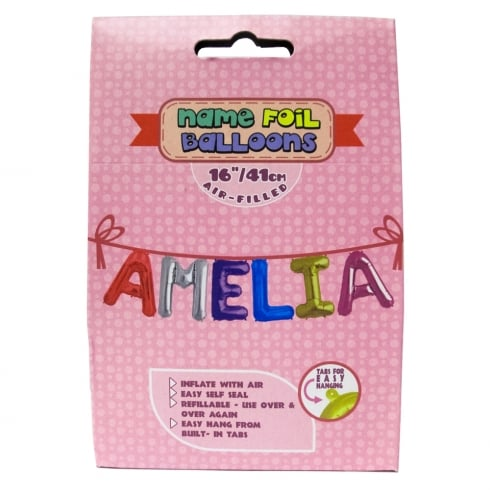 Royal County Products Name Foil Balloons Amelia