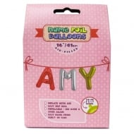 Name Foil Balloons Amy