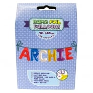 Name Foil Balloons Archie