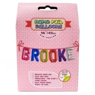 Name Foil Balloons Brooke
