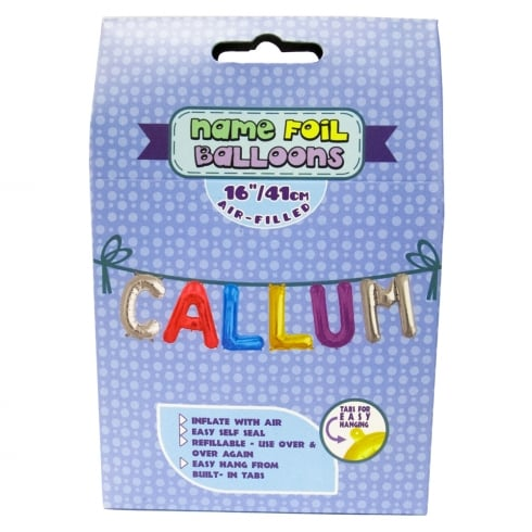 Royal County Products Name Foil Balloons Callum