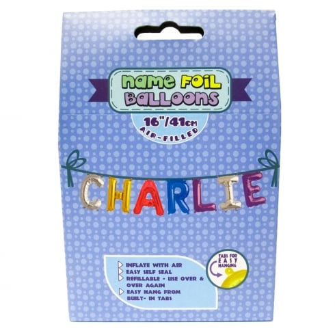 Royal County Products Name Foil Balloons Charlie