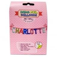 Name Foil Balloons Charlotte