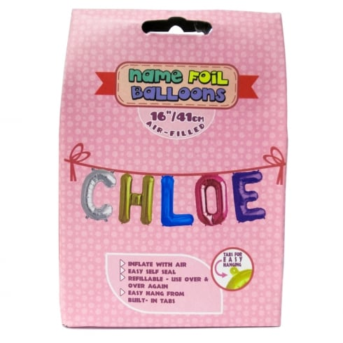 Royal County Products Name Foil Balloons Chloe