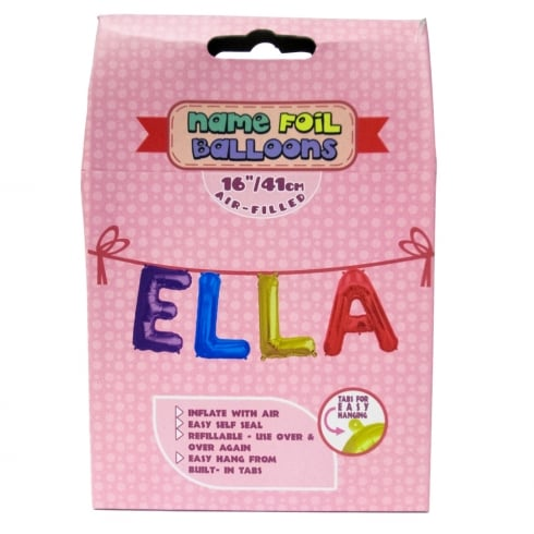 Royal County Products Name Foil Balloons Ella