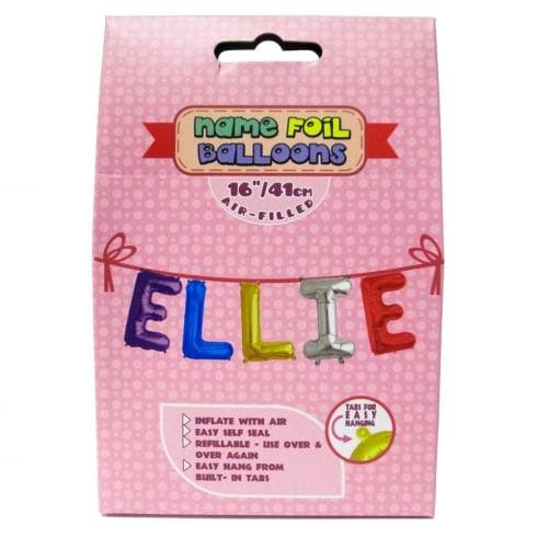 Royal County Products Name Foil Balloons Ellie